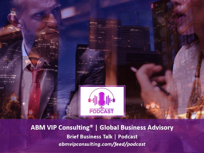 ABM VIP Consulting® | Brief Business Talk | Minutes with CEO