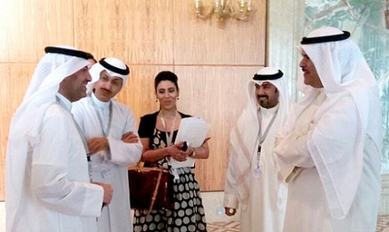 Information Minister and Minister of State for Youth Affairs Sheikh Salman Al-Sabah
