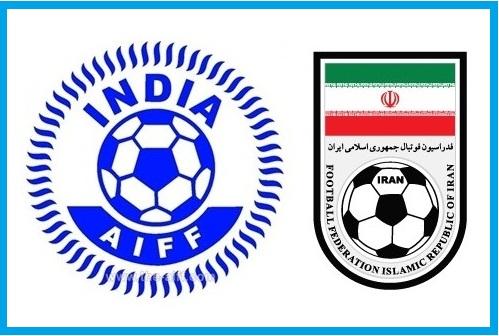 Football: India vs Iran