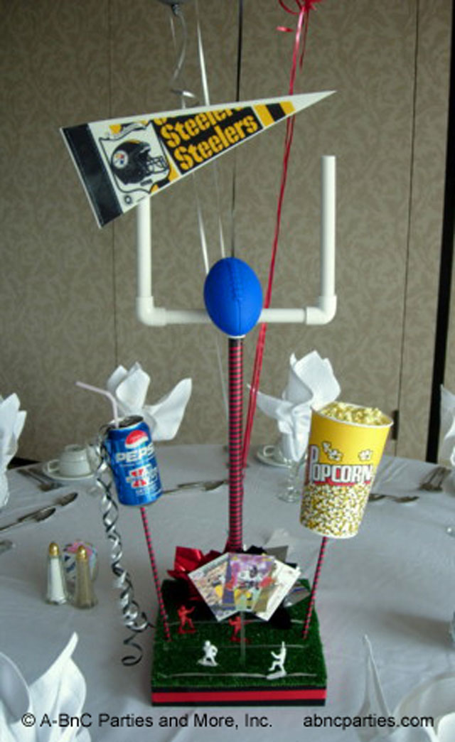Football Party Centerpieces