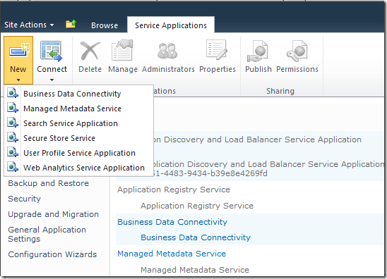 Installing InfoPath Forms Services - SharePoint 2010 (2/3)