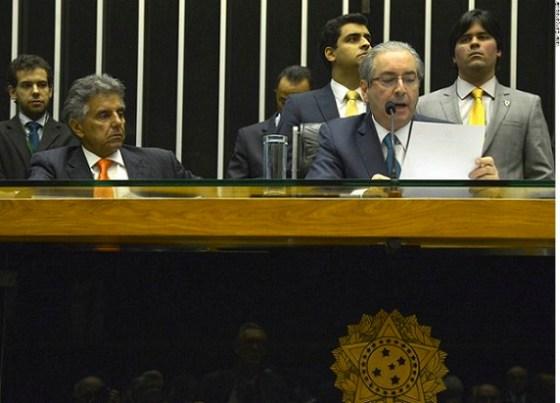 Eduardo Cunha inicia Impeachment