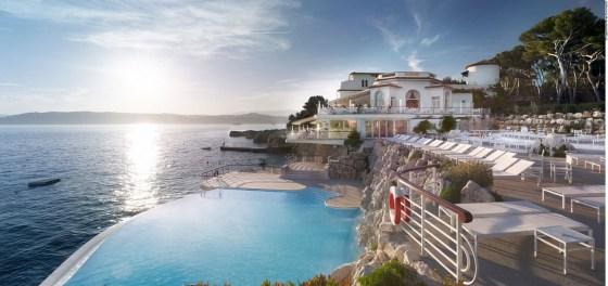 Hotel du Cap Eden Roc na Riviera Francesa