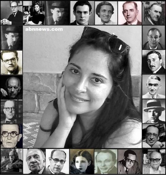 A escritora Andreia Donadon Leal, cronista da AGÊNCIA BRASILEIRA DE NOTÍCIAS, e outros renomados jornalistas que também colaboraram com a ABN NEWS: Antônio Calado (1917-1997), Cecília Meireles (1901-1964), Carlos Drummond de Andrade (1902-1987), Clarice Lispector (1920-1977), Érico Veríssimo (1905-1975), Fernando Pessoa (1888-1935), Humberto de Campos (1886-1934), Graciliano Ramos (1892-1953), José Lins do Rego (1901-1957), Mário de Andrade (1893-1945), Mário Quintana (1906-1994), Malba Tahan (1895-1974), Manuel Bandeira (1886-1968), Monteiro Lobato (1882-1948), Patrícia Rehder Galvão Pagu (1910-1962), Raul Bopp (1898-1984), Ruben Braga (1913-1990), Orígenes Lessa (1903-1986), Sérgio Buarque de Holanda (1902-1982), Ernest Hemingway (1899-1961), Jorge Luis Borges (1899-1986), Aldous Huxley (1894-1963), Stefan Zweig (1881-1942) e Thomas Mann (1875-1955).