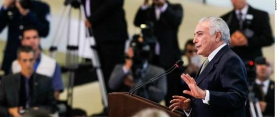 Presidente Michel Temer - Rio 2016
