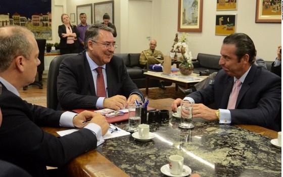 Embaixador da Argentina Carlos Alfredo Magariños em Florianópolis