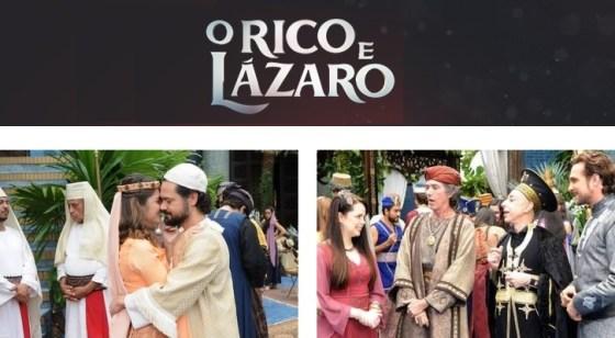Novela O Rico e Lázaro