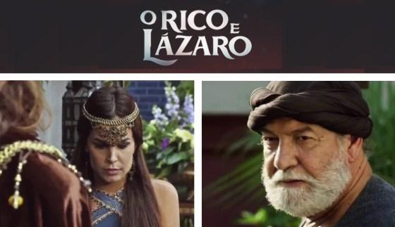Cenas da Novela O Rico e Lázaro