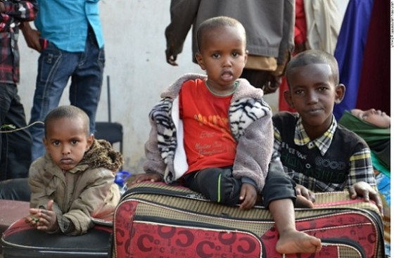 Somali refugee children