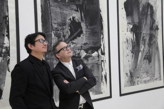 Lan Zhenghui with Ethan Cohen