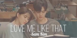 Love Me Like That Sam Kim Lyrics