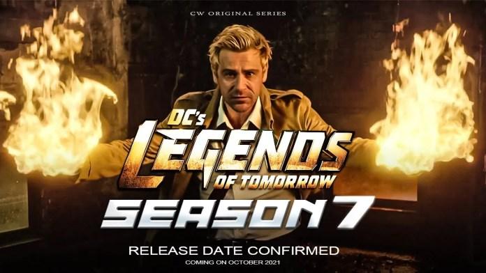 DC Legends Of Tomorrow Season 7 Release Date