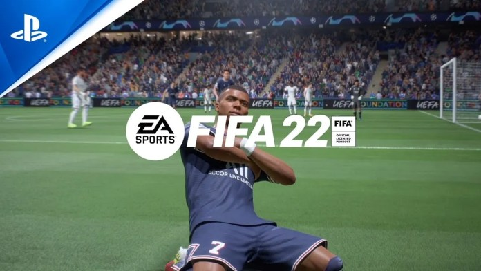 FIFA 22 Game File Size Update 1.000.001 with Day One Patch