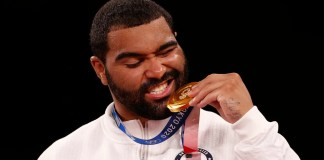 Has Tokyo Olympic gold medalist Gable Stevenson signed a WWE contract