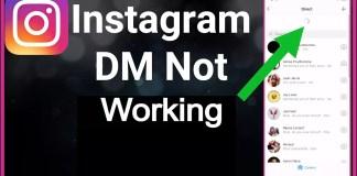 Instagram Dm Not Working