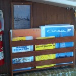 Boat books stored for sea