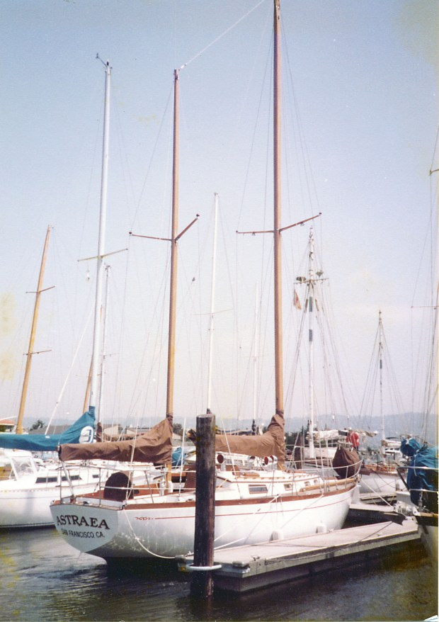 Astraea Rear Starboard Quarter