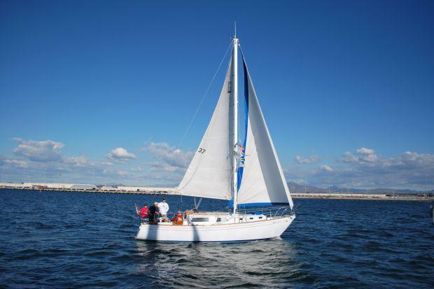 Sailing with JAYGAR