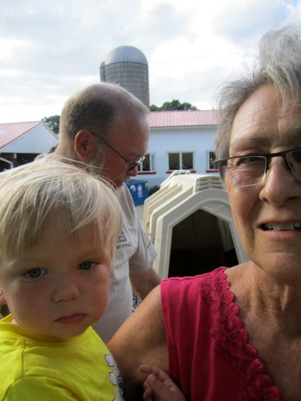 Sully took a trip to Perrydell with Nana and Pappy