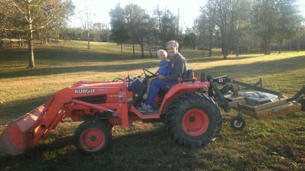 Tractor Riding with Uncle Derald