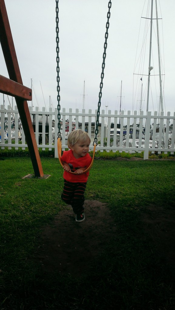 Swinging at Southwestern Yacht Club