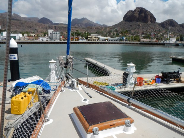 Cleaning up in Guaymas
