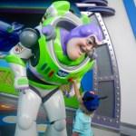 Pushing Buzz's button