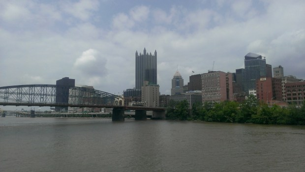 This big building is One PPG Place
