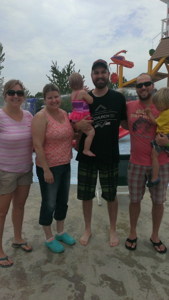 Natalie, Erin, Emma, Darren, me and Sully