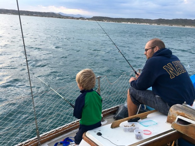 Fishing at Punta Chivato