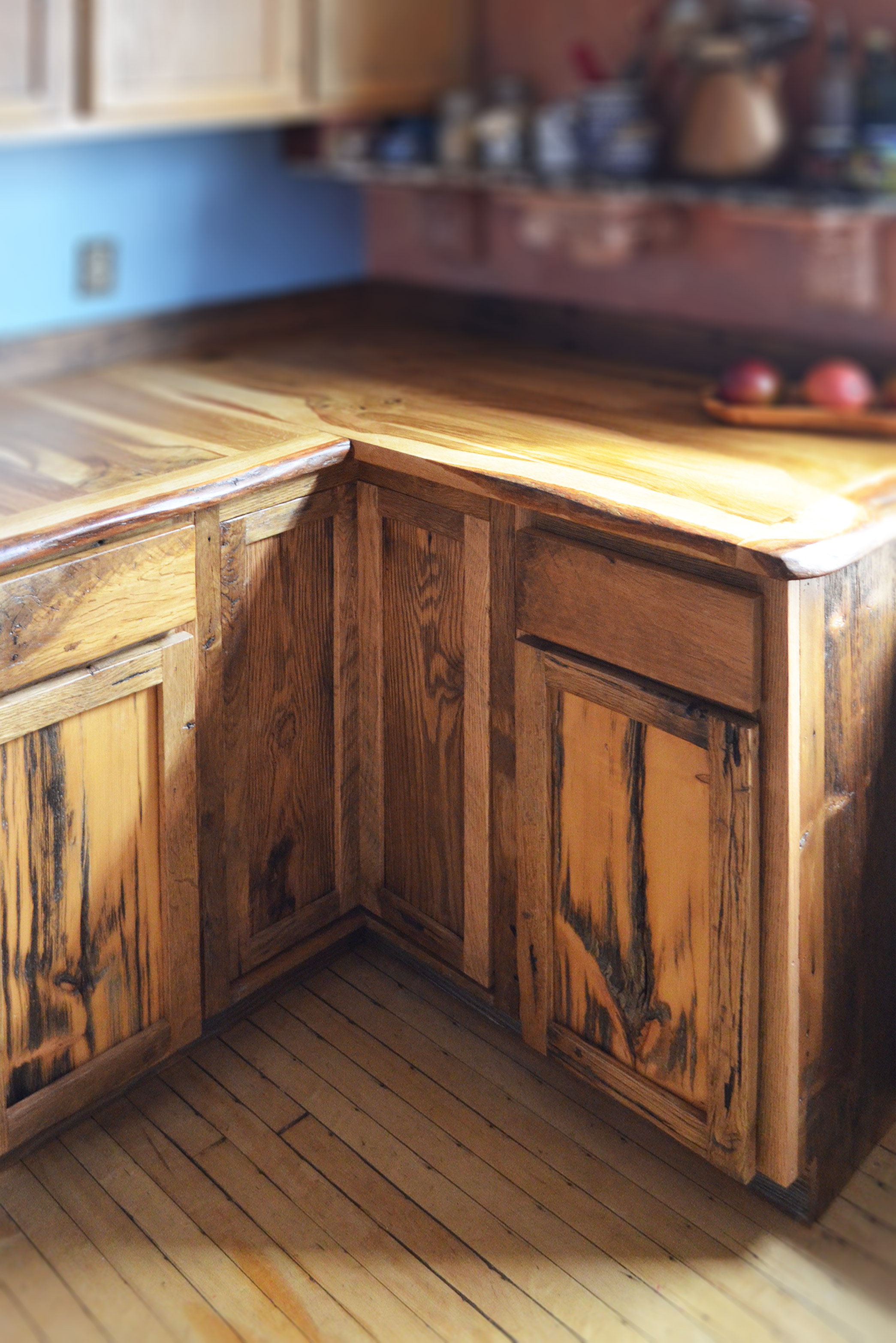 Kitchen Countertops Made Out Wood