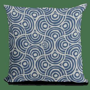 Fan Pattern Design Throw Pillow