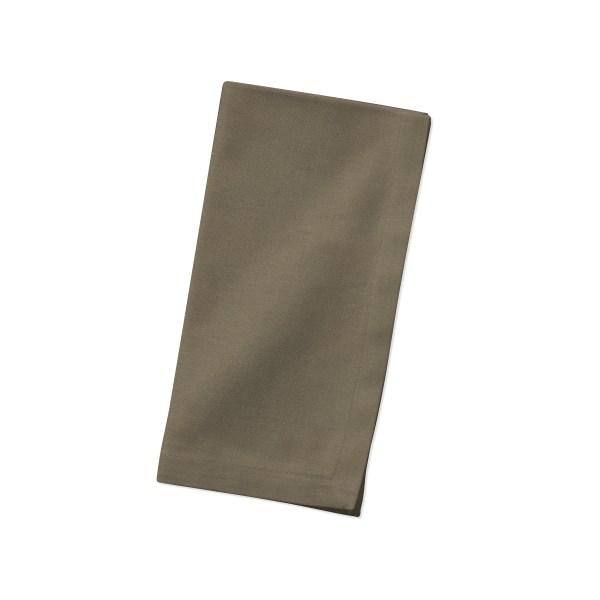 Cocoa Linen Napkin Folded