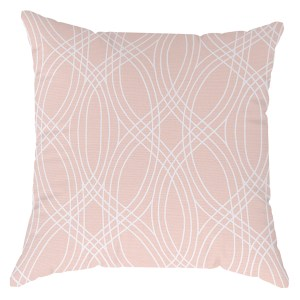 Crossroad coral pillow