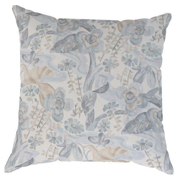 Sophie grey and taupe pillow