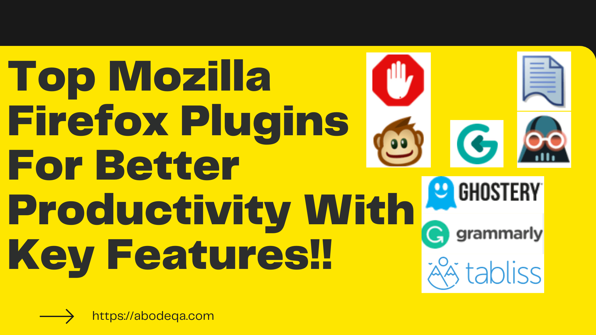 Top Mozilla Firefox Plugins For Better Productivity With Key Features!!