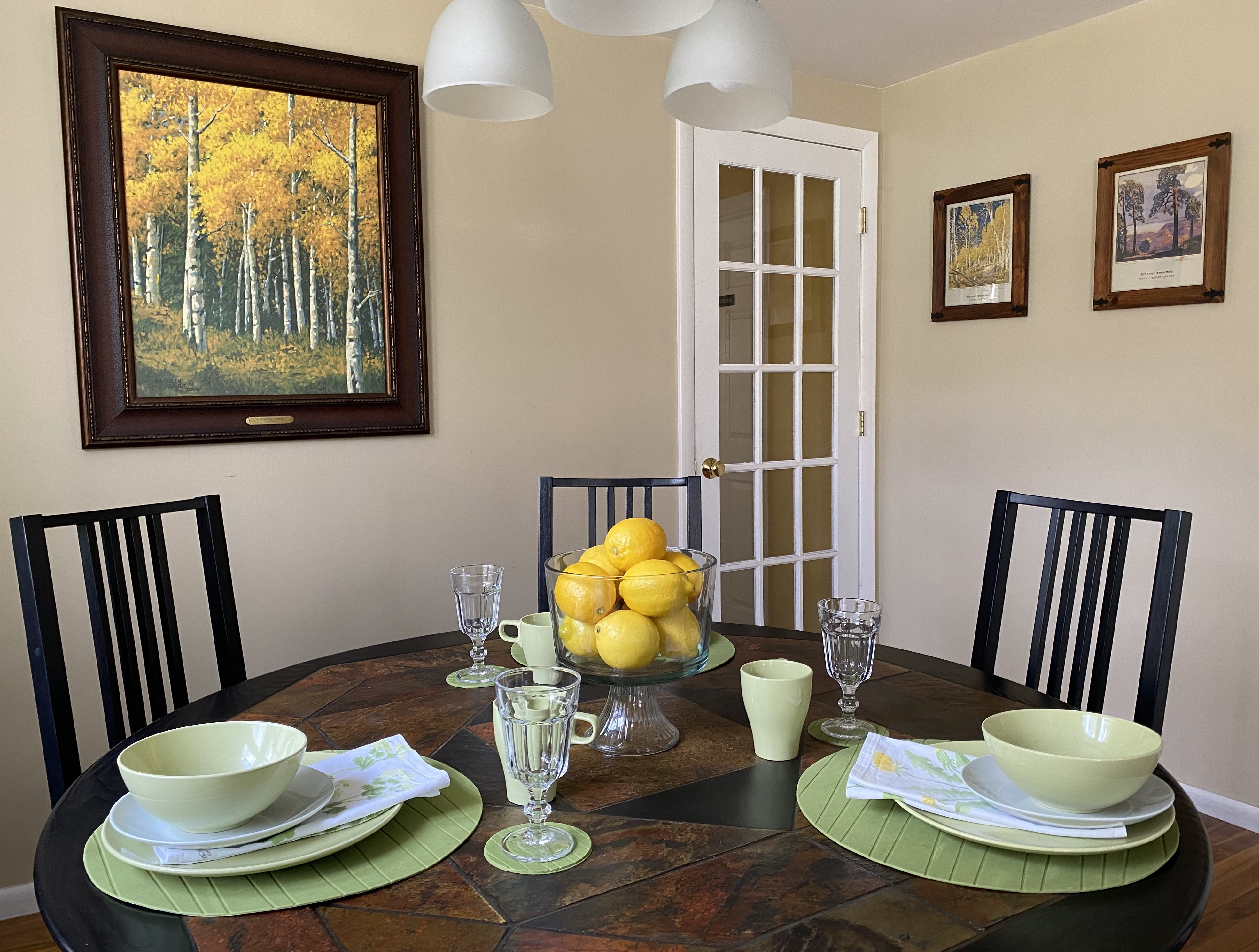 Birches Dining Room Table