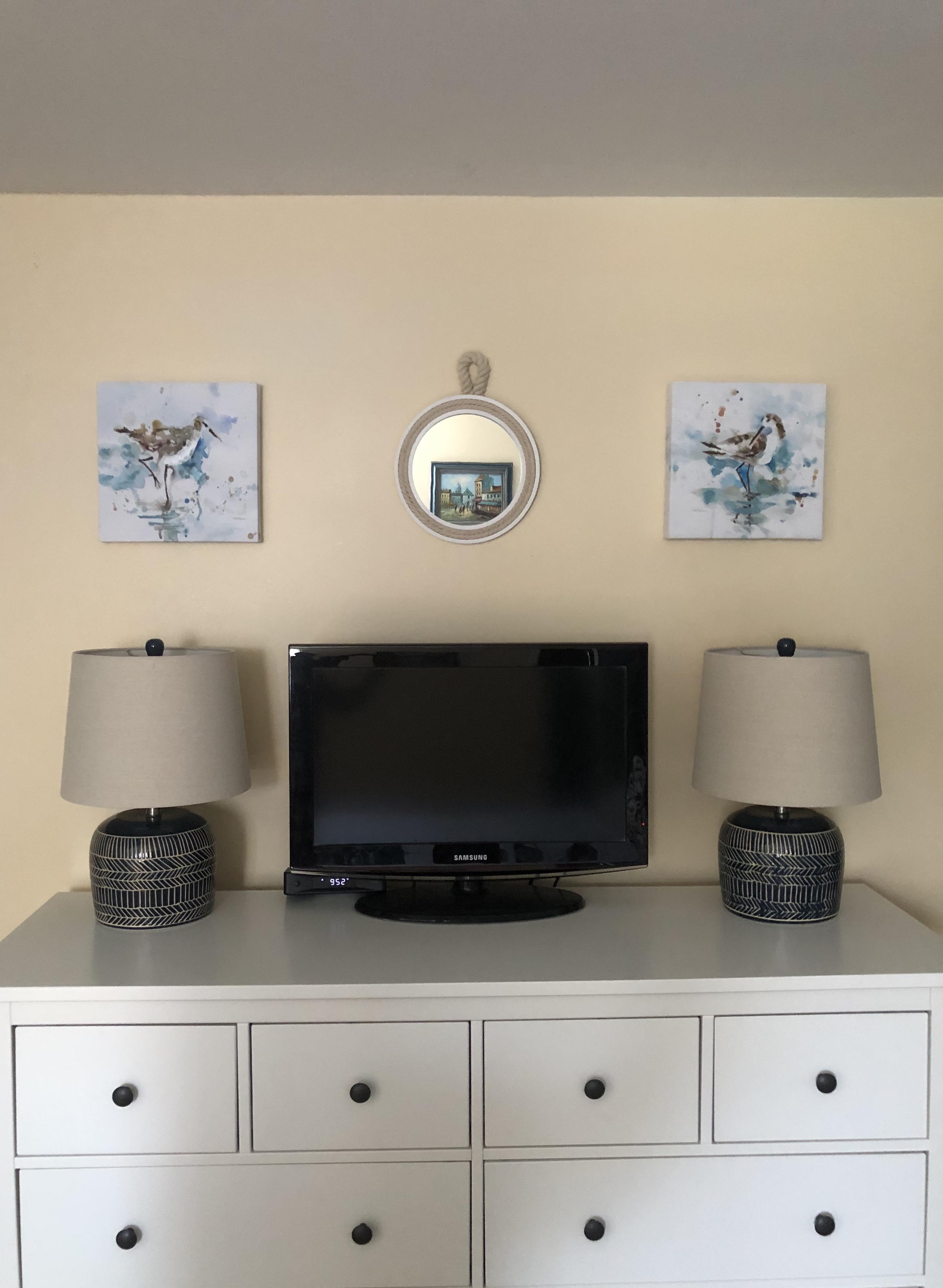Coastal Calm Master Bedroom Dresser