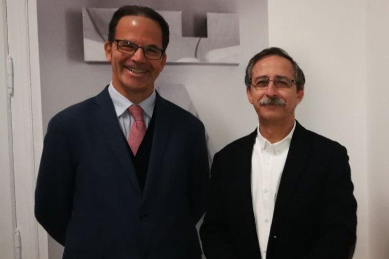 Bienvenida a José María Moncasi de Alvear