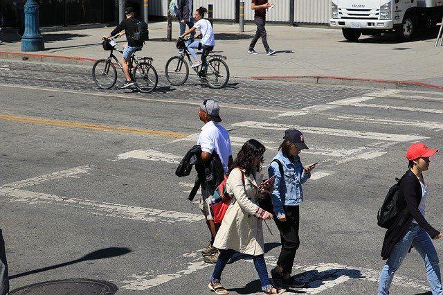 accidentes de peatones en california