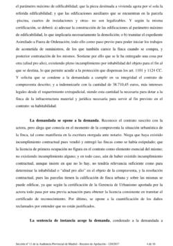 Sentencia Proced. Ordinario 338/2015 (SAREB)