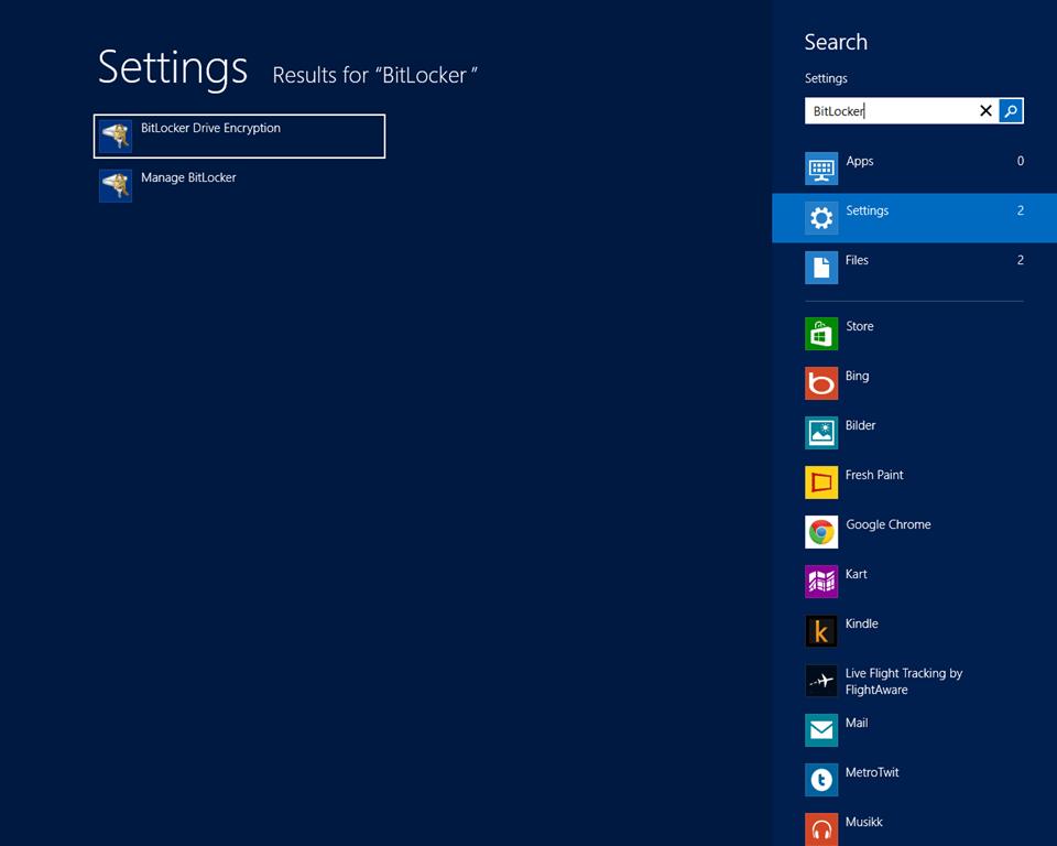 bitlocker  free for windows 8