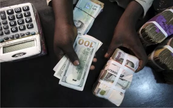 Bureau de change dollar to naira