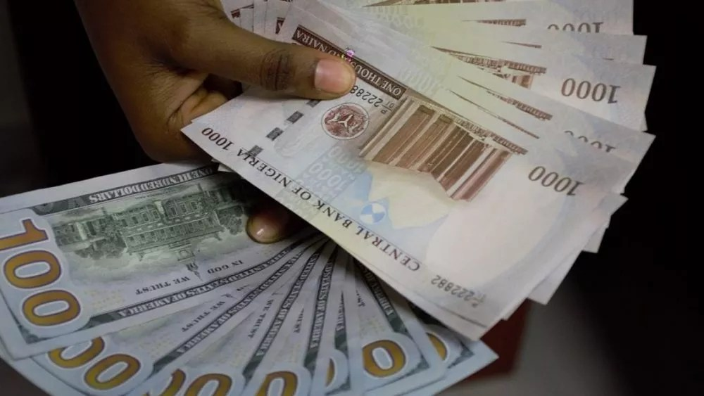 Dollar to Naira rate today