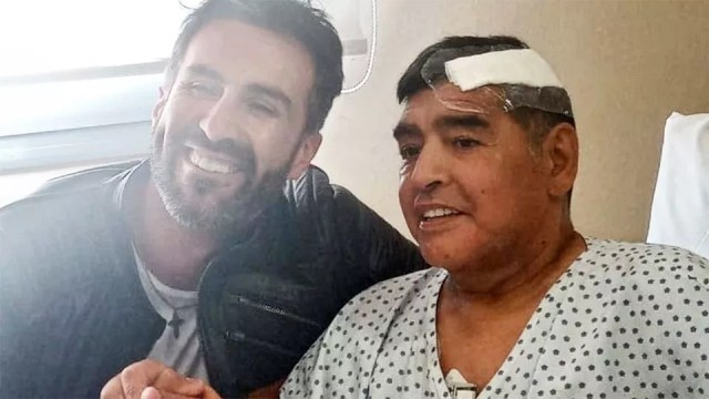 Diego Maradona in high spirits in hospital after his brain surgery