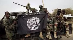 Boko Haram terrorists in the Northern part of Nigeria
