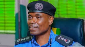 Police man addressing security issues