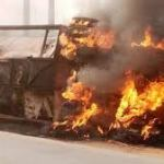 Fuel Tanker Explodes In Abeokuta, Kills At Least Three