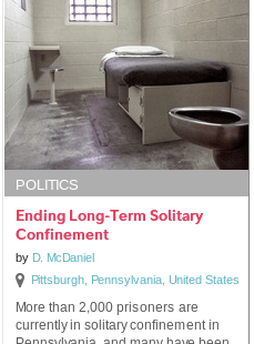 Funds Needed to Continue Working to End Long-Term Solitary Confinement