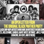 An Open Letter from the Original Black Panther Party